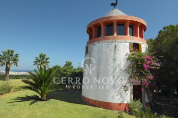 UNDER OFFER!! Unique character property with superb coastal views and two windmills