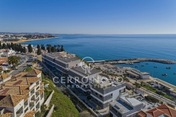 Frontline apartments with breathtaking sea views and private pool