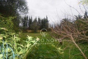 Plot of land with approved project for  a three bedroom villa