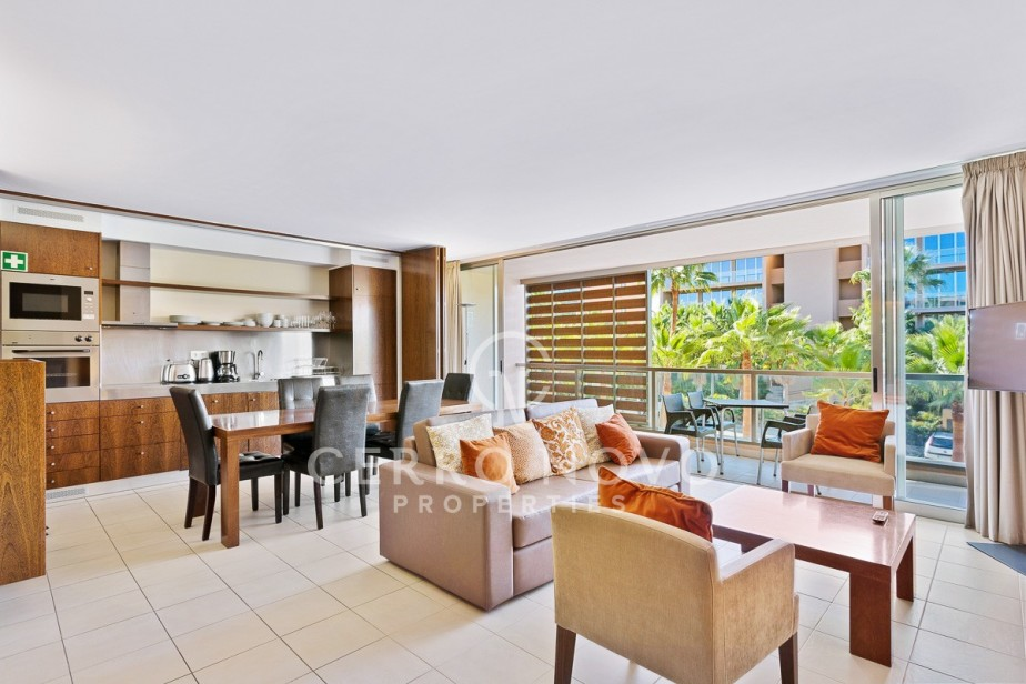 Luxury two bedroom golf resort apartment