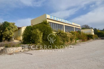 Commercial property with panoramic views in Boliqueime