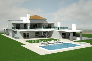 Luxury contemporary 5+1 bedroom villa in renowned golf resort