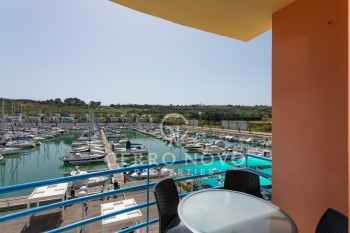 Beautiful two bedroom apartment with fantastic views over Albufeira marina