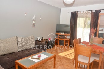 Two bedroom apartment in centre of the village with garage space