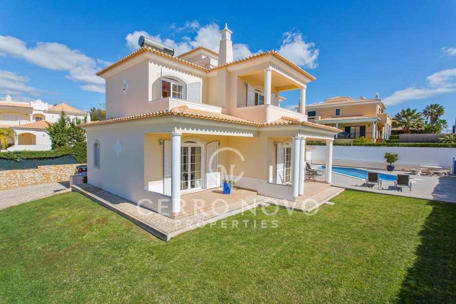 Fabulous three plus bedroom villa with heated pool, close to beaches