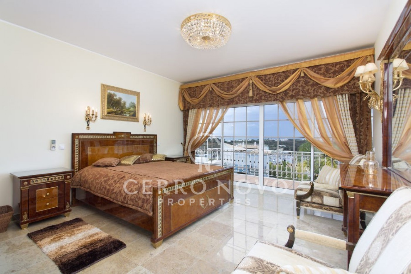 Unique Property with Sea and Marina Views