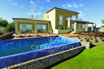 Build your detached villa overlooking on the golf course