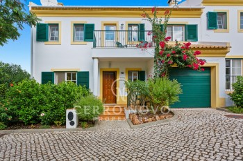 SOLD-Lovely  semi detached townhouse  with private garage and communal pool