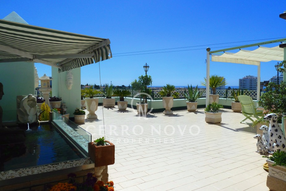 Wonderful penthouse apartment with great views