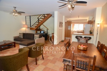 Three bedroom townhouse in lovely condominium with communal pool