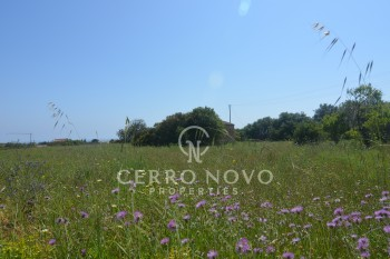 Plot of land with sea view and project approved
