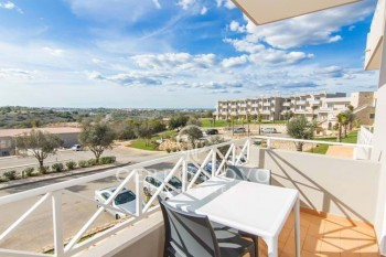 One bedroom duplex apartments in renowned golf complex