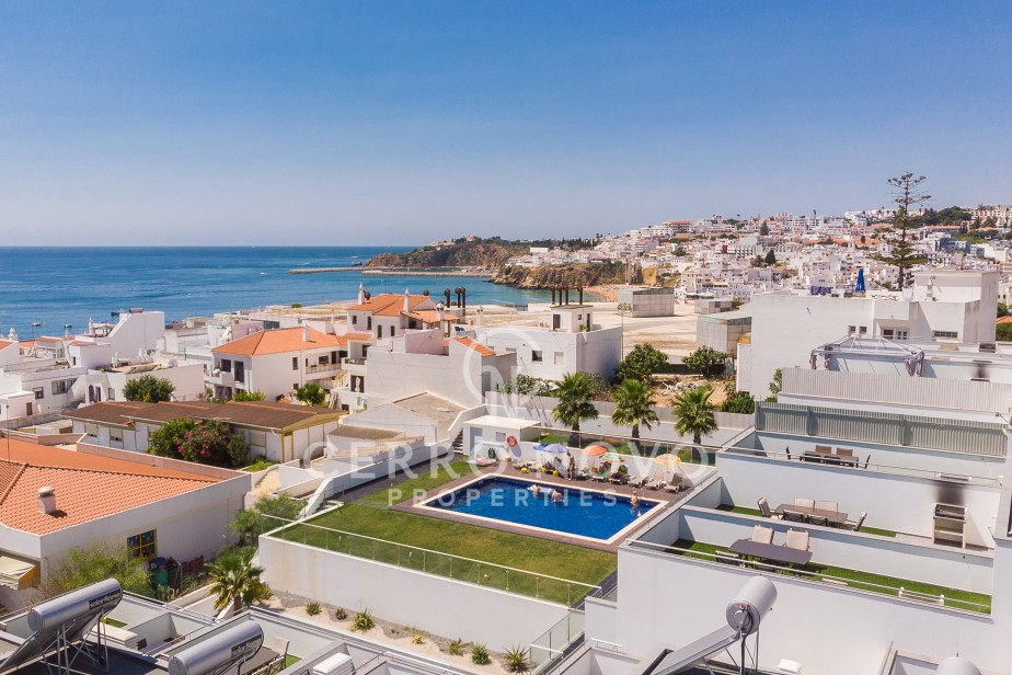 Modern two bedroom duplex with sea view  200 metres from the beach