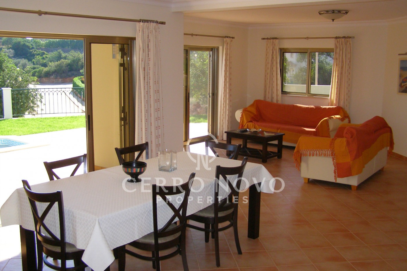 Three bedroom villa  (2+1) with swimming pool