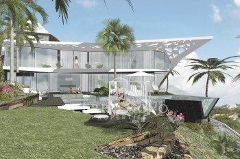 Ultra Modern Villa on front line location to be built