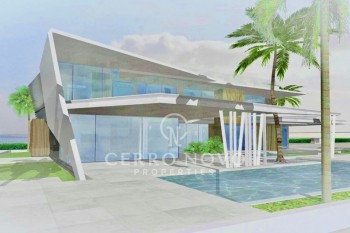Amazing plot with sea view by the beach!