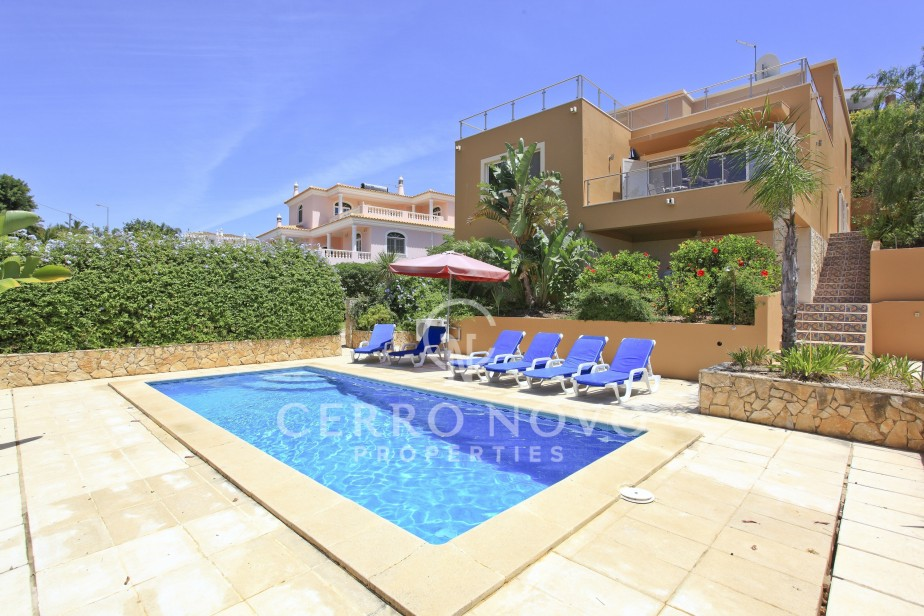 Very Spacious, Modern, Three Bedroom Villa With Country And Coastal Views